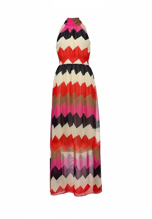 Платье Ark & co. Цвет: мультиколор