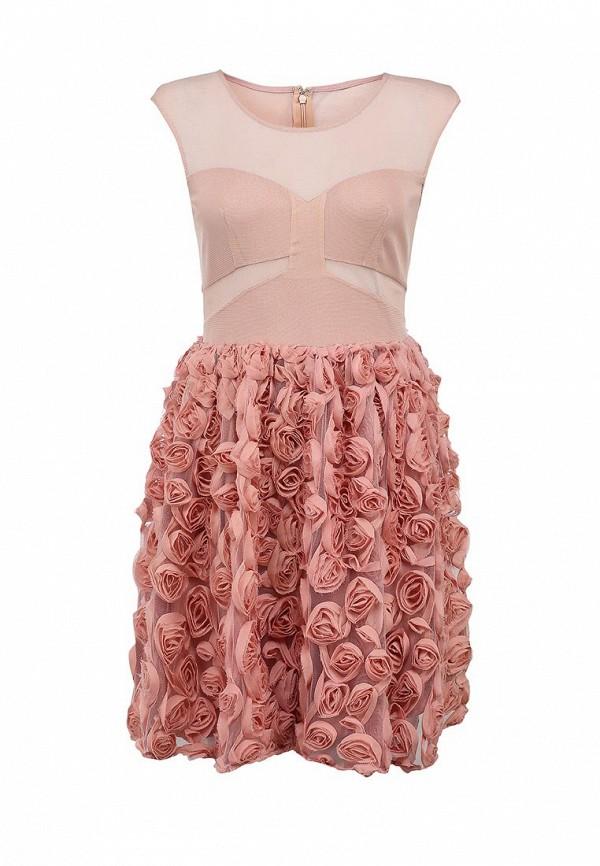 Платье-миди Ark & co DJ-15989-G: изображение 1