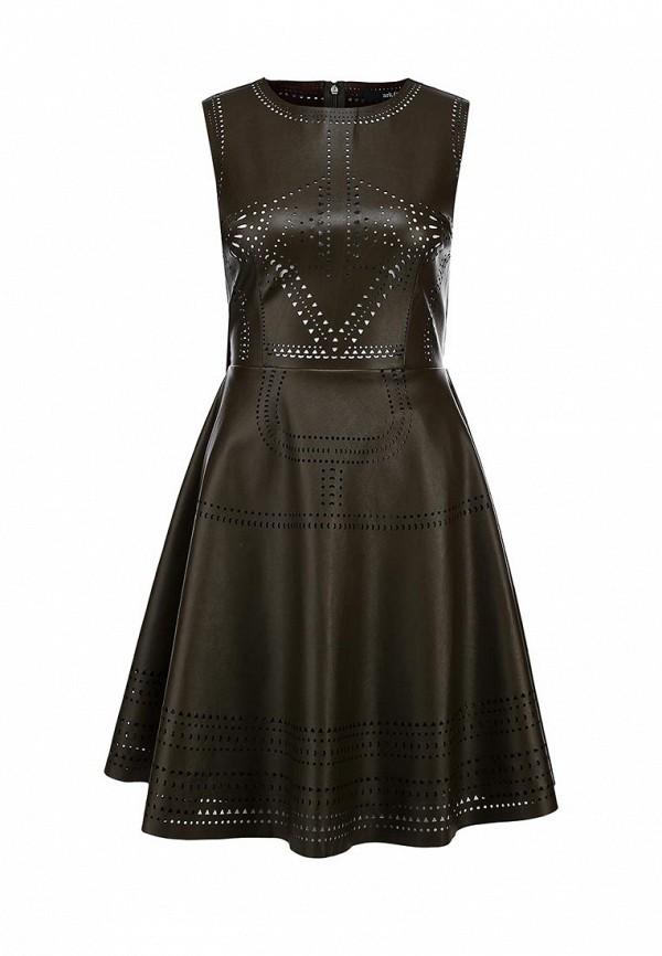Платье Ark & co. Цвет: коричневый