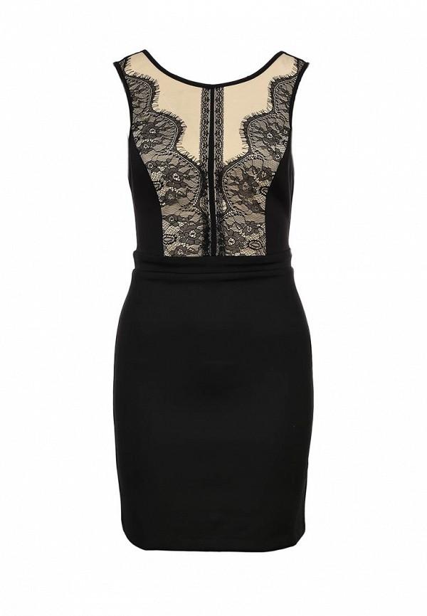 Платье Ark & co. Цвет: черный