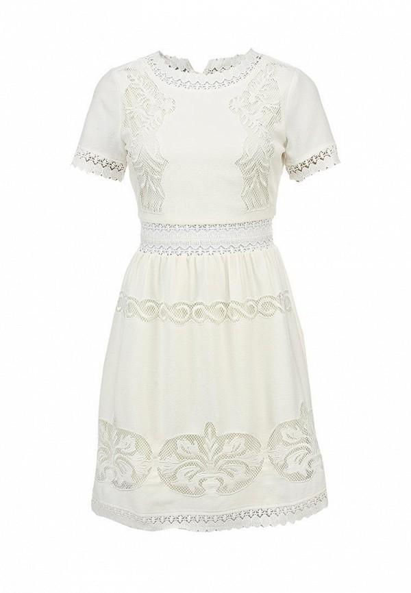 Платье Ark & co. Цвет: белый