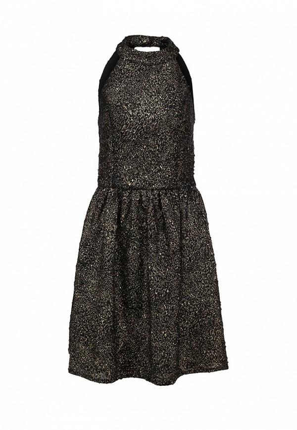 Платье Ark & co. Цвет: золотой