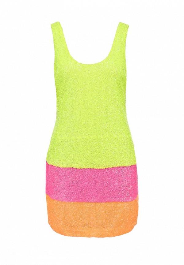 Платье Ark & co. Цвет: зеленый