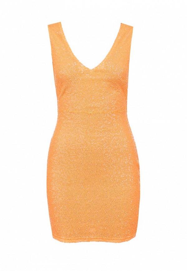 Платье Ark & co. Цвет: оранжевый