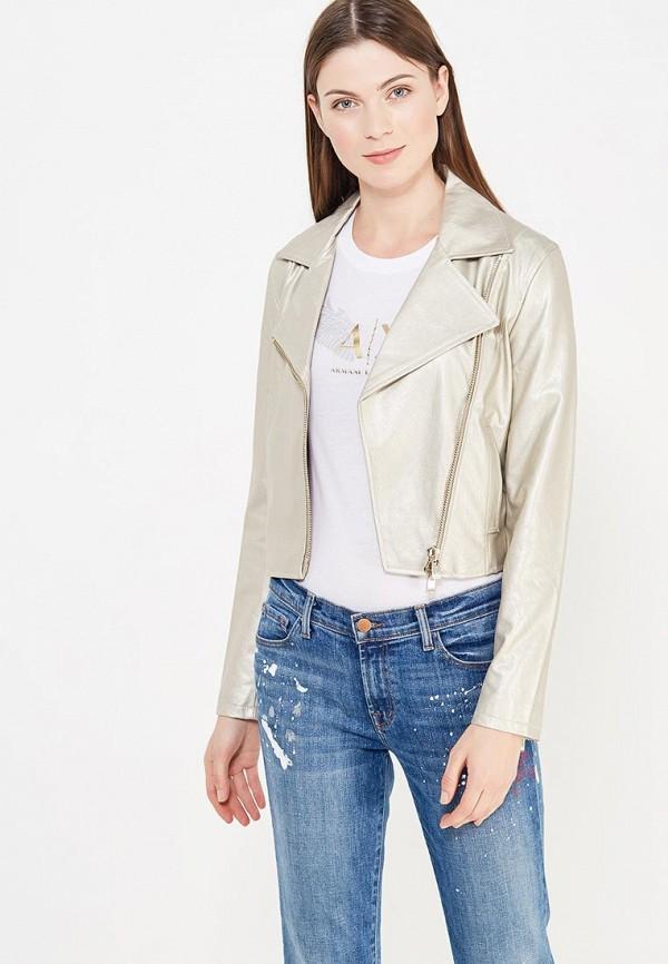 Куртка кожаная Armani Exchange Armani Exchange AR037EWTLH63 мужская armani куртка