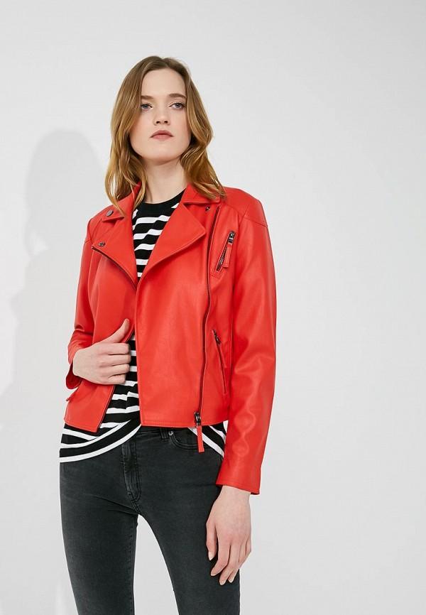 Фото Куртка кожаная Armani Exchange. Купить с доставкой