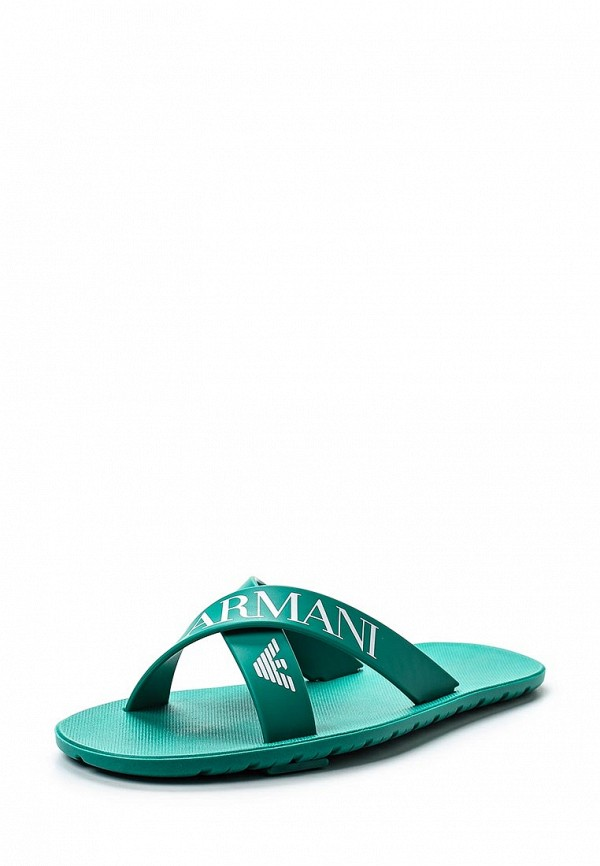 Мужские сланцы Armani Junior 405511 7P062