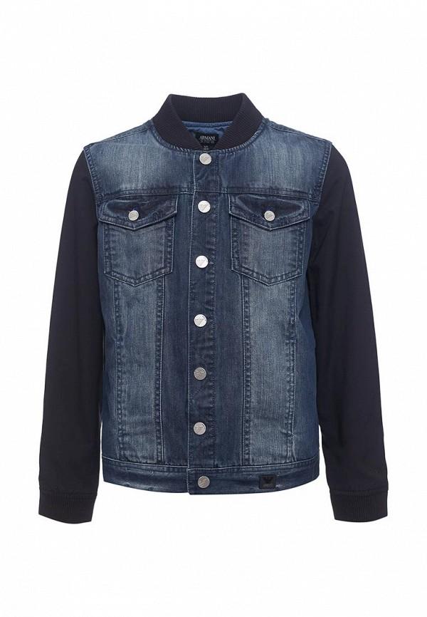 Купить Куртка джинсовая Armani Junior, Armani Junior AR038EBZZN75, синий, Весна-лето 2018