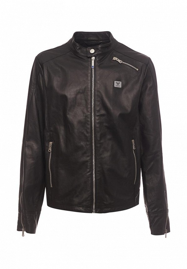Куртка кожаная Armani Junior Armani Junior AR038EBZZN76 richmond junior 410654