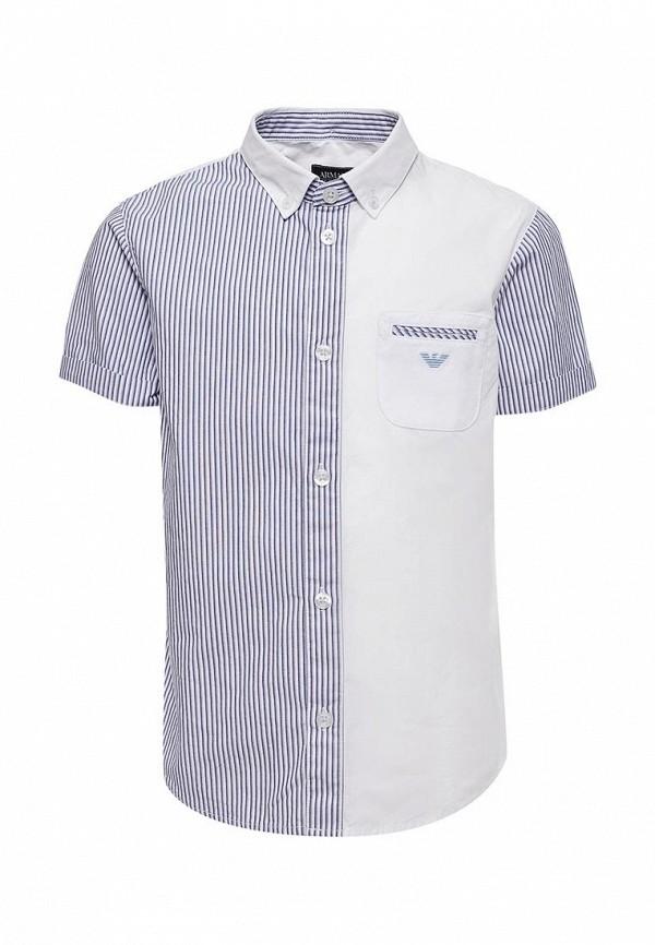 Купить Рубашка Armani Junior, Armani Junior AR038EBZZN80, синий, Весна-лето 2018