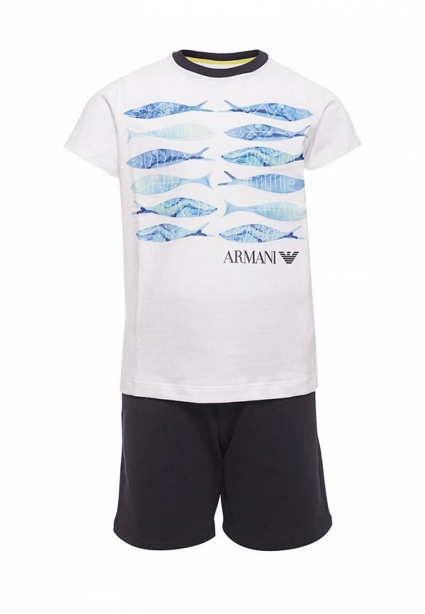 Костюм спортивный Armani Junior Armani Junior AR038EBZZQ28 armani junior полусапоги и высокие ботинки