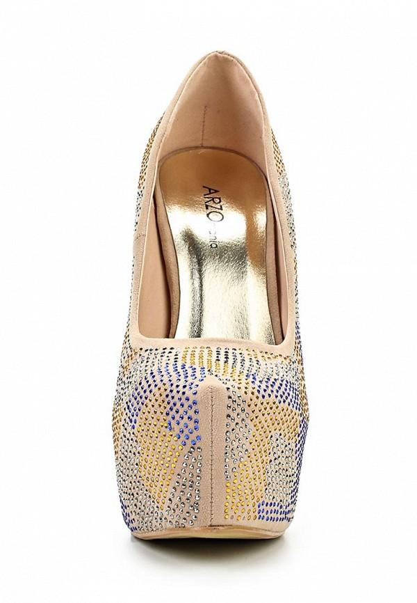 Туфли на шпильке ARZOmania 1869-8 beige: изображение 6
