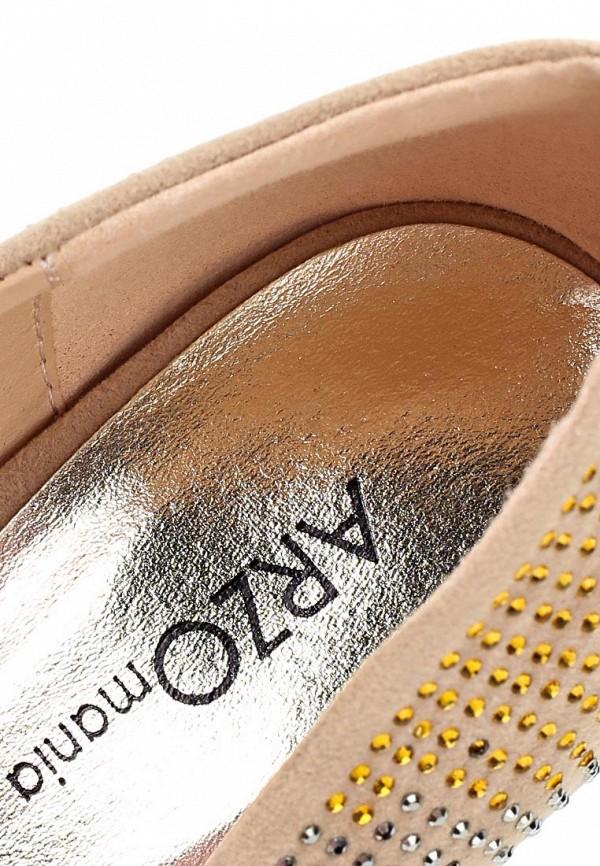 Туфли на шпильке ARZOmania 1869-8 beige: изображение 12