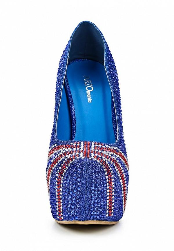 Туфли на каблуке ARZOmania 188-K5 blue: изображение 6