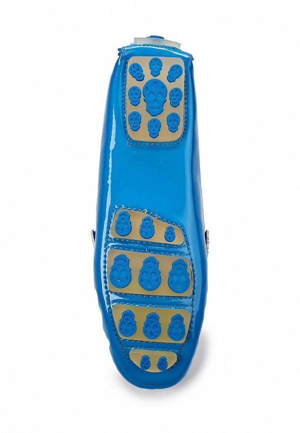 Женские мокасины ARZOmania F 218-3 blue/white: изображение 2