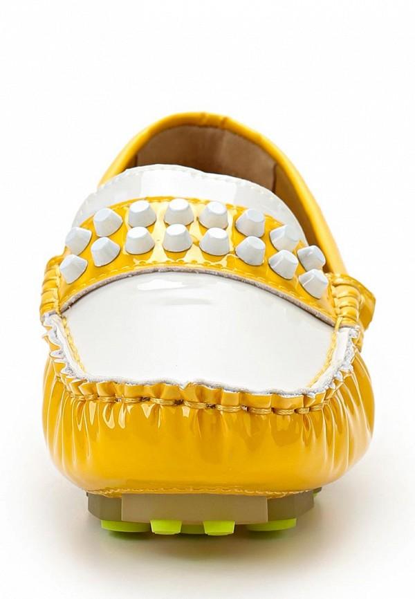 Женские мокасины ARZOmania F 218-3 yellow/white: изображение 3