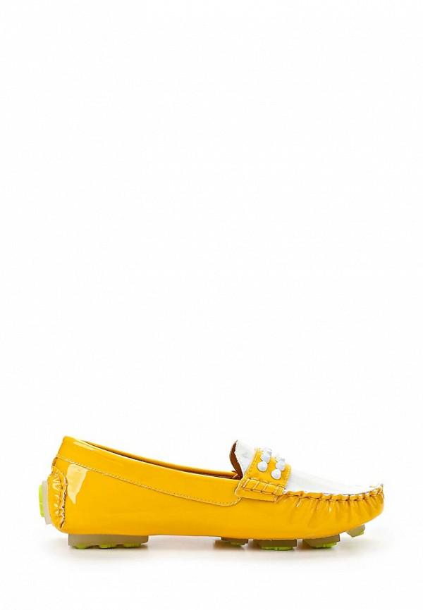 Женские мокасины ARZOmania F 218-3 yellow/white: изображение 4