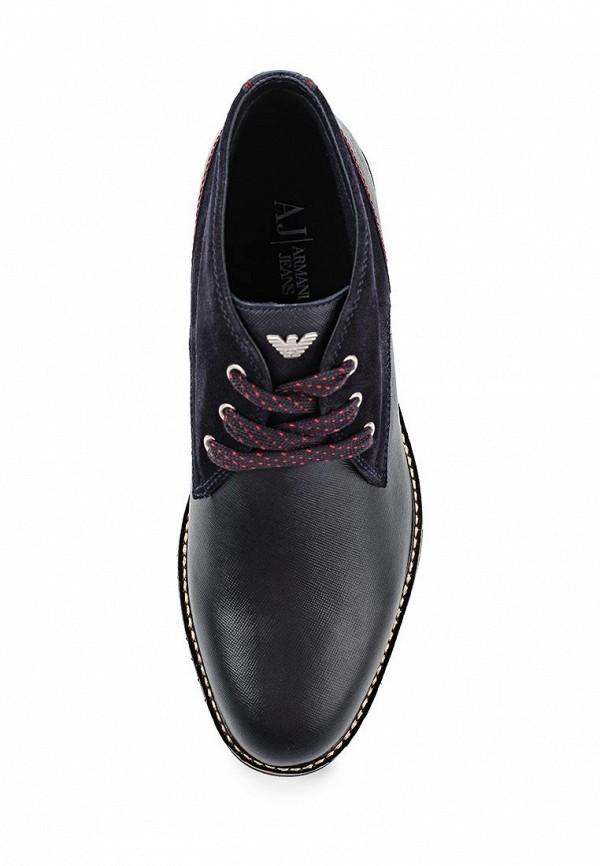 Мужские ботинки Armani Jeans (Армани Джинс) B6553 16: изображение 4