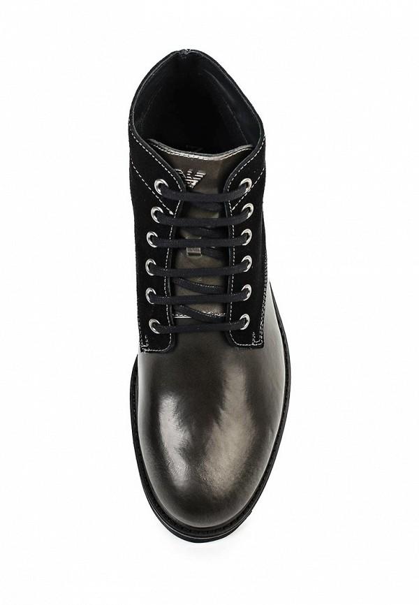 Мужские ботинки Armani Jeans (Армани Джинс) B6586 63: изображение 4