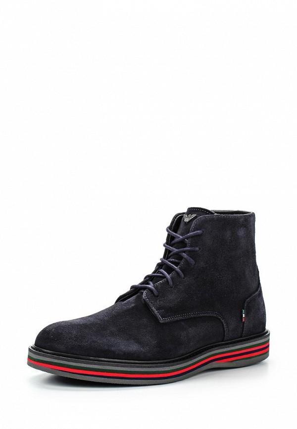 Мужские ботинки Armani Jeans (Армани Джинс) B6597 45: изображение 1