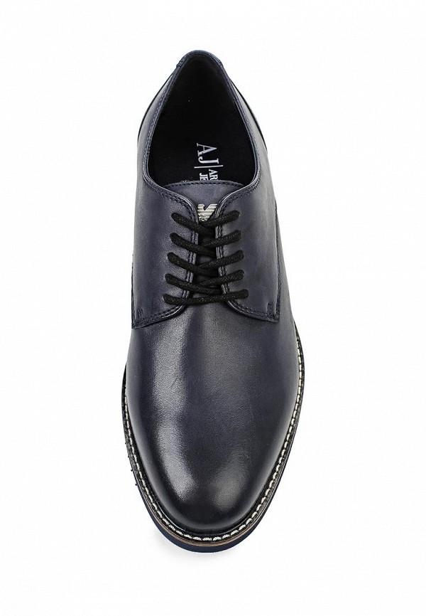 Мужские туфли Armani Jeans (Армани Джинс) B6554 17: изображение 4