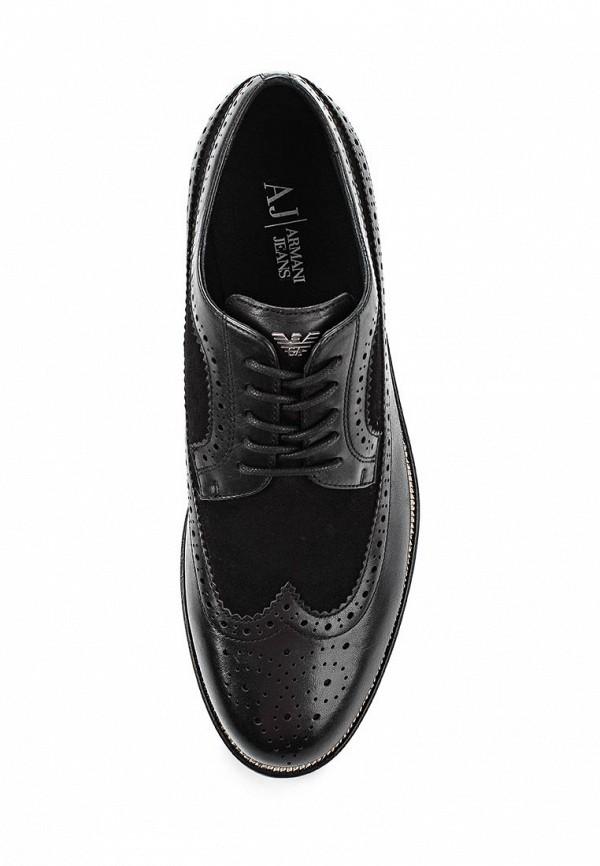 Мужские туфли Armani Jeans (Армани Джинс) B6555 18: изображение 4