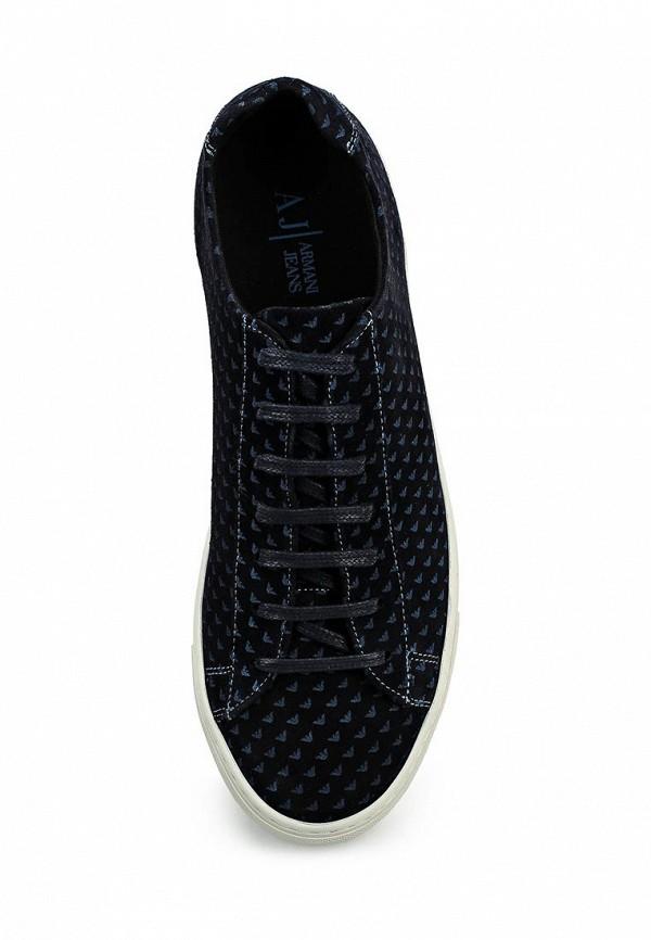 Мужские кеды Armani Jeans (Армани Джинс) C6595 91: изображение 4