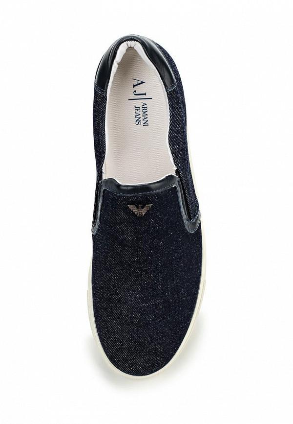 Слипоны Armani Jeans (Армани Джинс) C6576 95: изображение 4