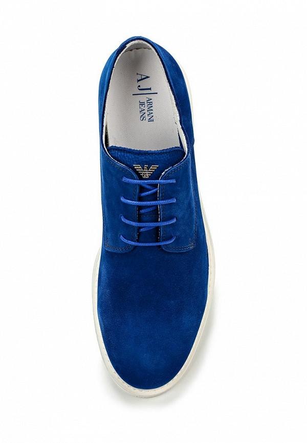 Мужские туфли Armani Jeans (Армани Джинс) C6587 93: изображение 4