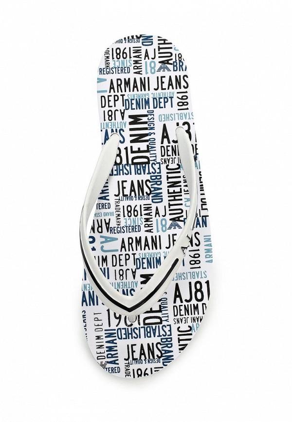 Мужские сланцы Armani Jeans (Армани Джинс) C6561 56: изображение 4