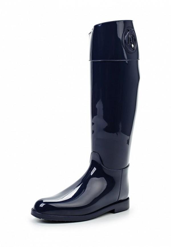 Женские резиновые сапоги Armani Jeans (Армани Джинс) B55K1 51: изображение 1