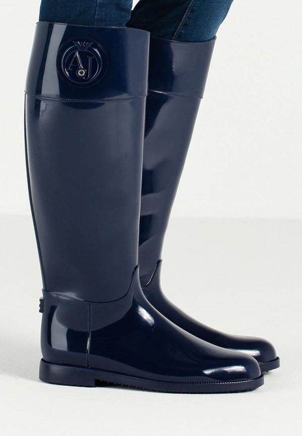Женские резиновые сапоги Armani Jeans (Армани Джинс) B55K1 51: изображение 6