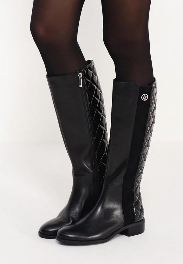 Сапоги на каблуке Armani Jeans (Армани Джинс) B5523 15: изображение 6
