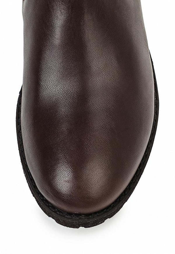 Сапоги на каблуке Armani Jeans (Армани Джинс) B5541 21: изображение 4