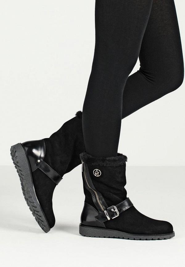 Сапоги на плоской подошве Armani Jeans (Армани Джинс) B55B3 31: изображение 6