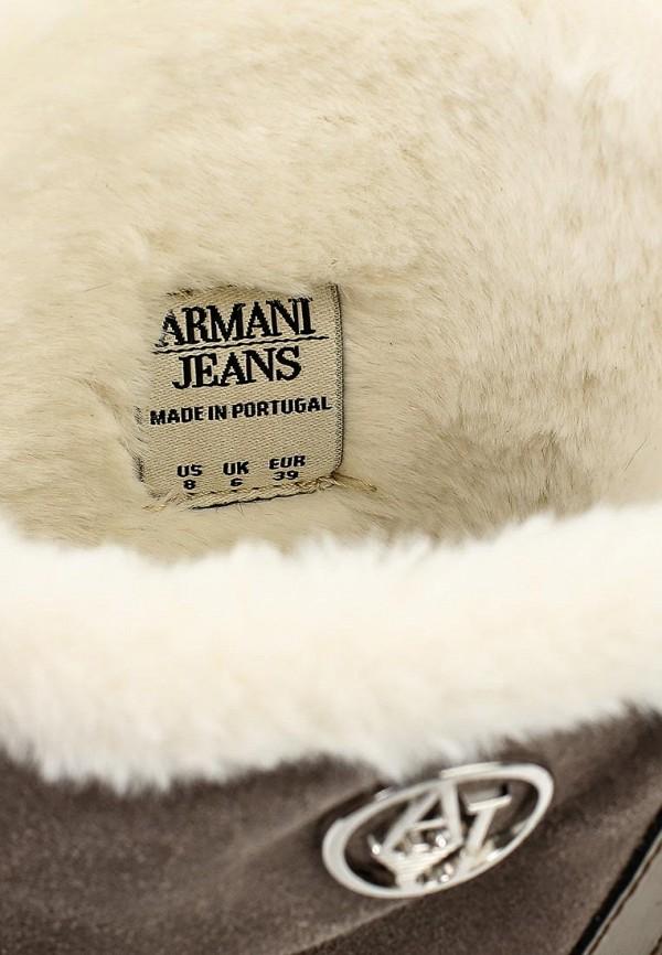 Сапоги на плоской подошве Armani Jeans (Армани Джинс) B55B3 31: изображение 5
