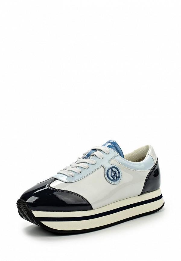 Женские кроссовки Armani Jeans (Армани Джинс) C55C7 56: изображение 6