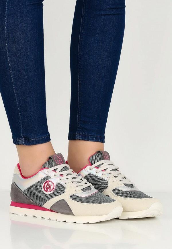 Женские кроссовки Armani Jeans (Армани Джинс) C55C3 51: изображение 5