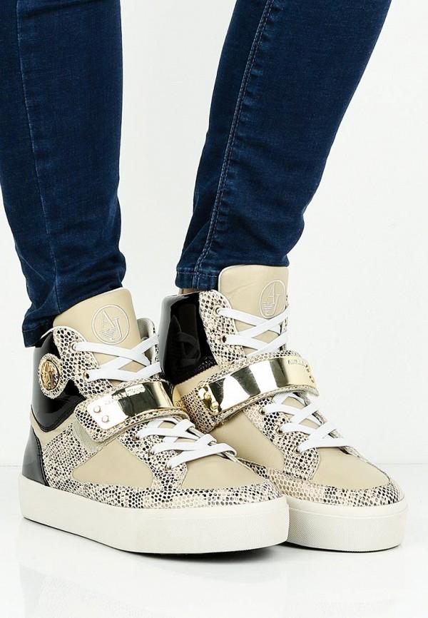 Женские кеды Armani Jeans (Армани Джинс) C55B2 45: изображение 6