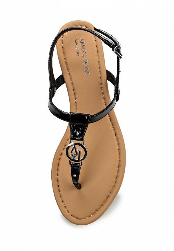 Женские сандалии Armani Jeans (Армани Джинс) C5587 28: изображение 4