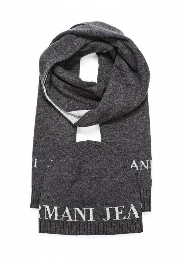 майка armani jeans armani jeans ar411ewqjz28 Комплект шапка и шарф Armani Jeans Armani Jeans AR411CMTXT07