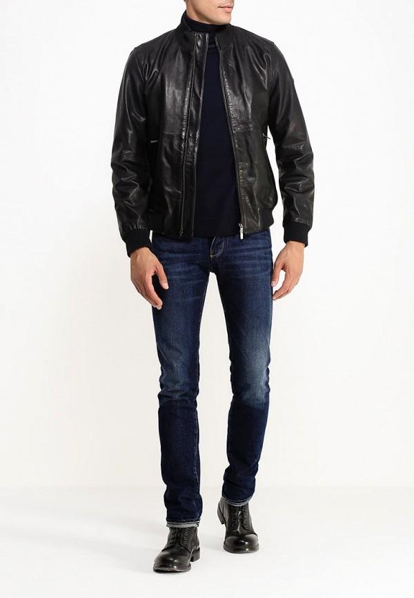 Кожаная куртка Armani Jeans (Армани Джинс) b6b25 mc: изображение 2