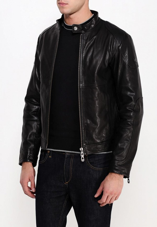 Кожаная куртка Armani Jeans (Армани Джинс) b6b29 md: изображение 4