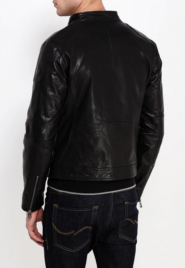 Кожаная куртка Armani Jeans (Армани Джинс) b6b29 md: изображение 5