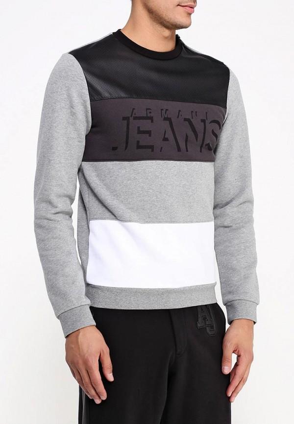 Толстовка Armani Jeans (Армани Джинс) b6m72 bx: изображение 4