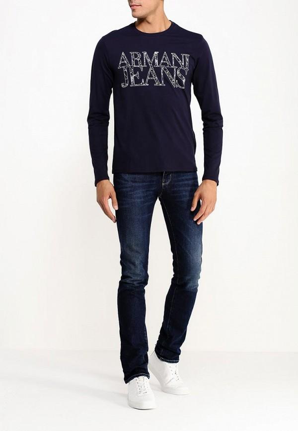 Футболка с надписями Armani Jeans (Армани Джинс) b6h47 ul: изображение 2