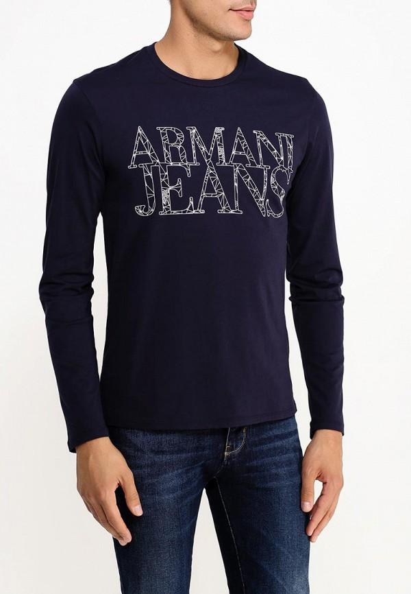 Футболка с надписями Armani Jeans (Армани Джинс) b6h47 ul: изображение 3