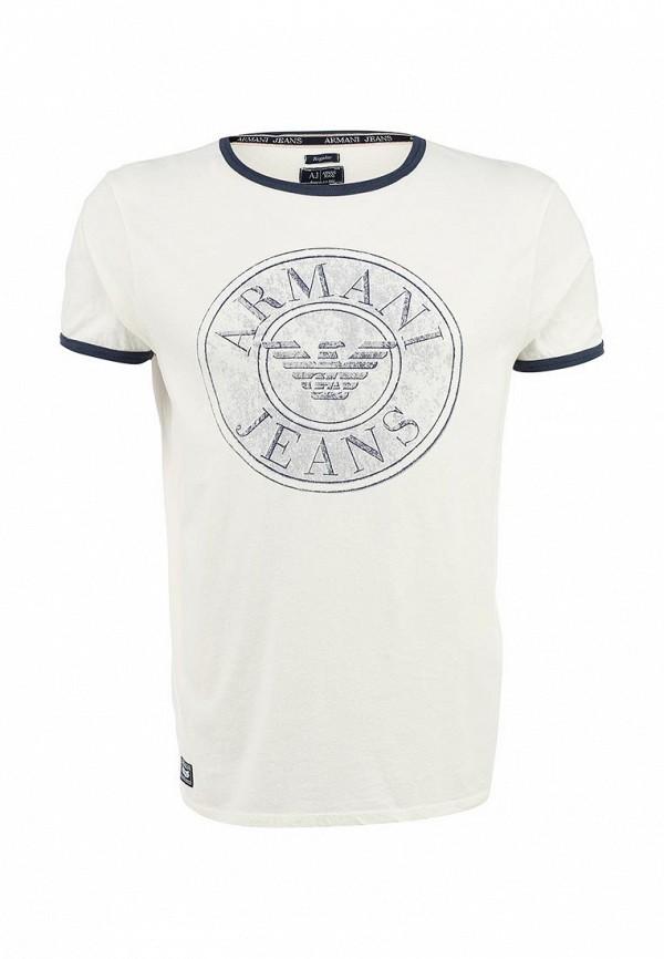 Футболка с надписями Armani Jeans (Армани Джинс) b6h26 lu: изображение 1