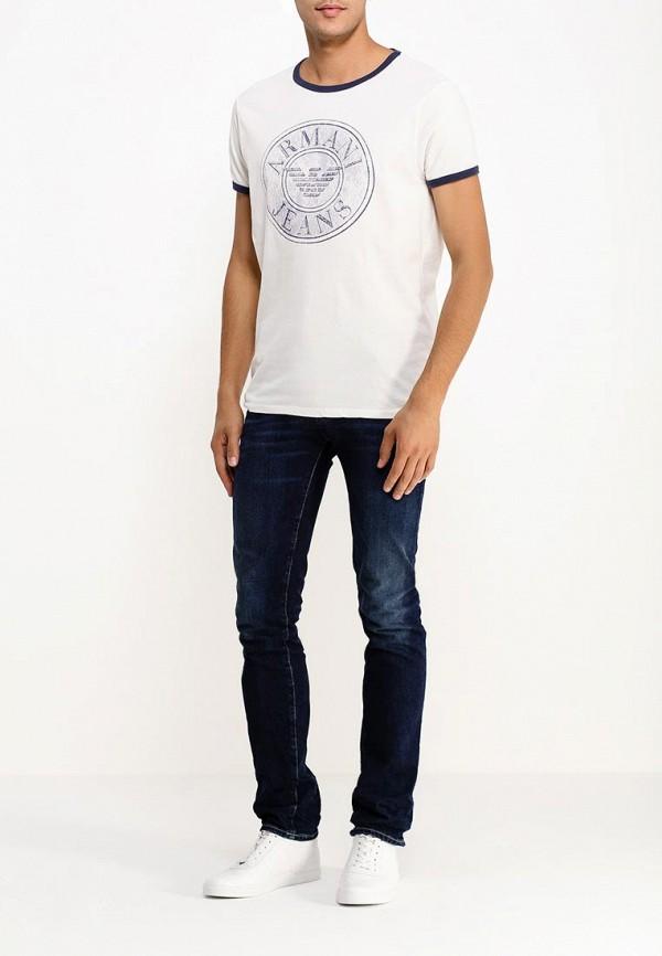 Футболка с надписями Armani Jeans (Армани Джинс) b6h26 lu: изображение 2
