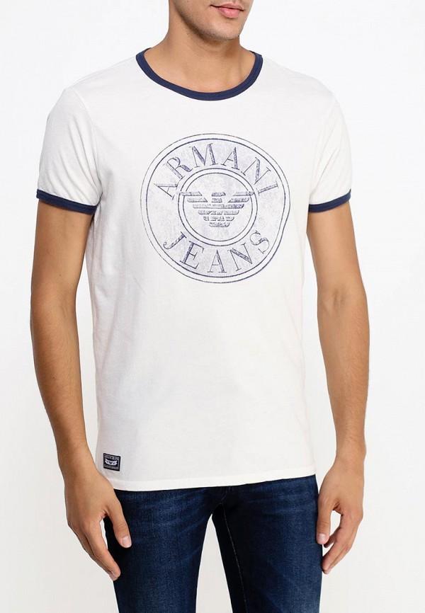 Футболка с надписями Armani Jeans (Армани Джинс) b6h26 lu: изображение 3